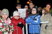 9. prosince 2015. Česko zpívá koledy na náměstí TGM v Přerově