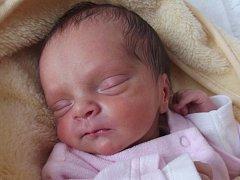 Kateřina Cínová, Přerov-Předmostí, narozena dne 15. prosince 2014 v Přerově, míra: 43 cm, váha: 2 036 g