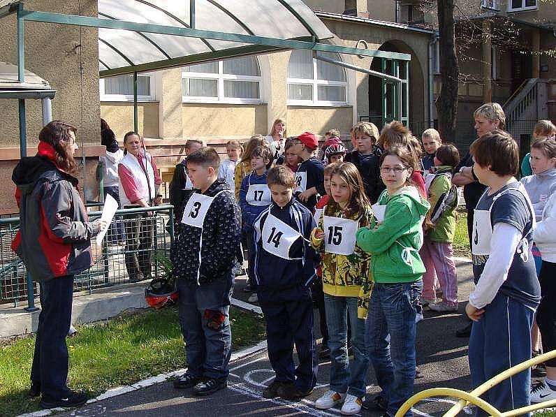 Dopravní soutěž pro školáky v Přerově