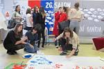 Výtvarné práce studentů, ale také literární okénko - takový byl šestadvacátý ročník Salonu, který se konal v prostorách Gymnázia Jana Blahoslava a Střední pedagogické školy v Přerově.
