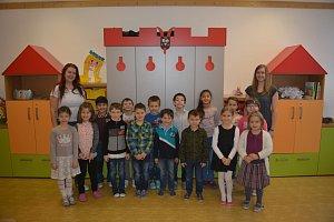 Žáci 1.A ze ZŠ v Bělotíně