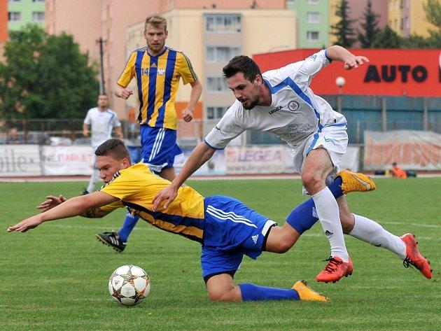 Viktorie Přerov (v bílém) proti Kozlovicím