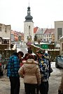 3. ročník Předvánočního dopoledne na nádvoří potštátského zámku.
