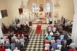 Kostel sv. Markéty - po opravě interiéru