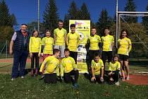 Úspěšní závodníci Klubu koloběhu Lipník nad Bečvou v sezoně 2020.