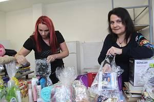 Dvě dobrovolnice Martina Tovaryšová a Edita Jemelková uspořádaly i letos sbírku pro pacienty Léčebny dlouhodobě nemocných v Přerově.
