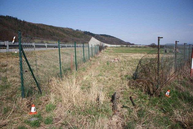 Nabourání plotů a poklopu u Lipníku nad Bečvou