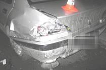 Nehoda v ulici bratří Hovůrkových v Přerově