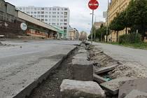 Rekonstrukce Palackého ulice v Přerově
