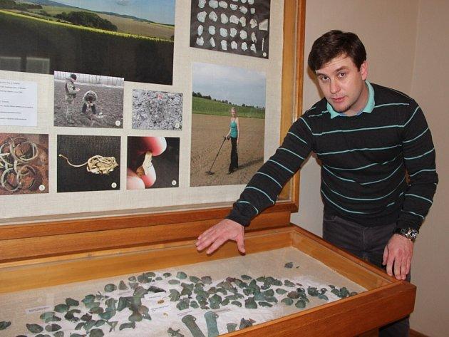 Výstava s názvem Detektory v archeologii v Muzeu Komenského v Přerově