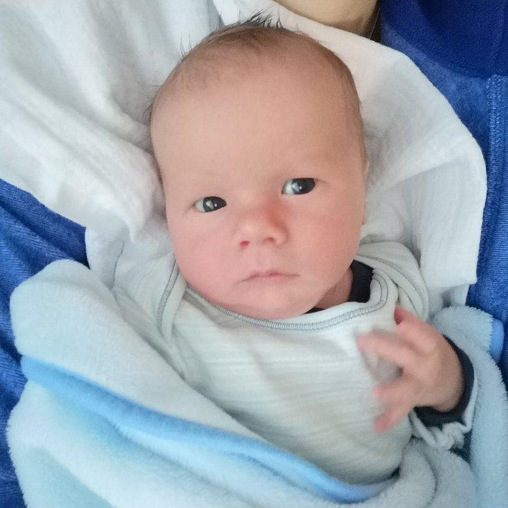 Lukášek Hilscher, Hranice, narozen 5. února 2020 ve Valašském Meziříčí, míra 49 cm, váha 4150 g