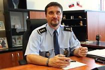 Šéf přerovského územního odboru policie Martin Lebduška.