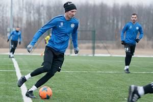 Fotbalisté Kozlovic v zimní přípravě
