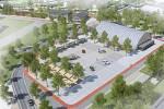 Vizualizace. Takovou podobu bude mít v budoucnu přerovské výstaviště - prostor před víceúčelovou halou