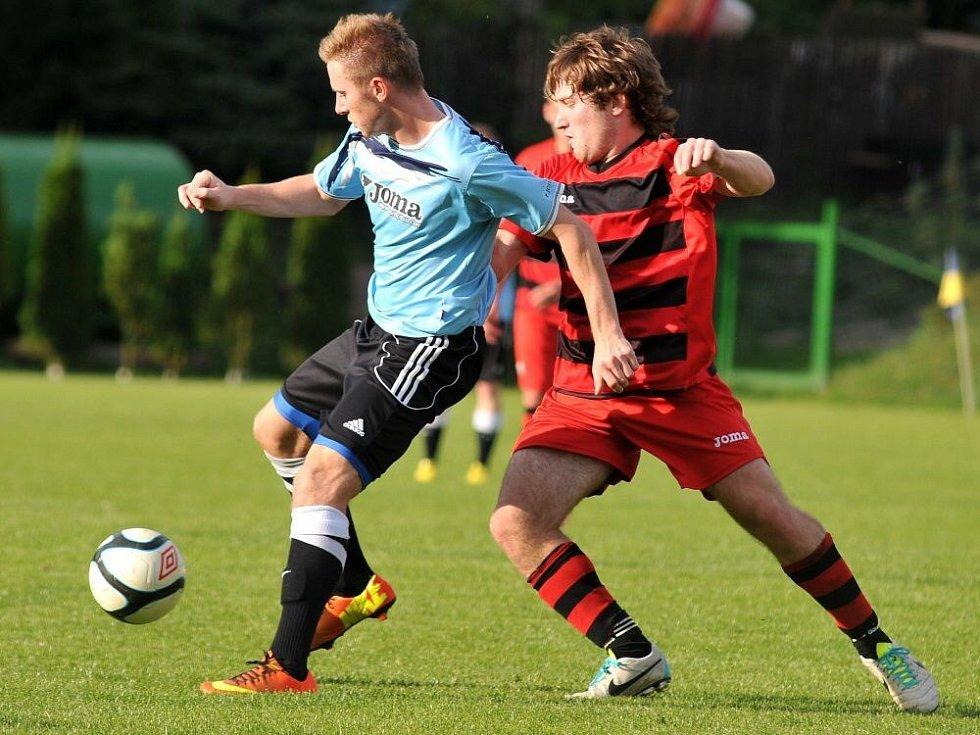 FK Kozlovice (v modrém) – Sokol Konice