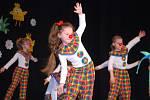Mateřinky v pohybu - přehlídka vystoupení mateřských škol s názvem v Městském domě v Přerově