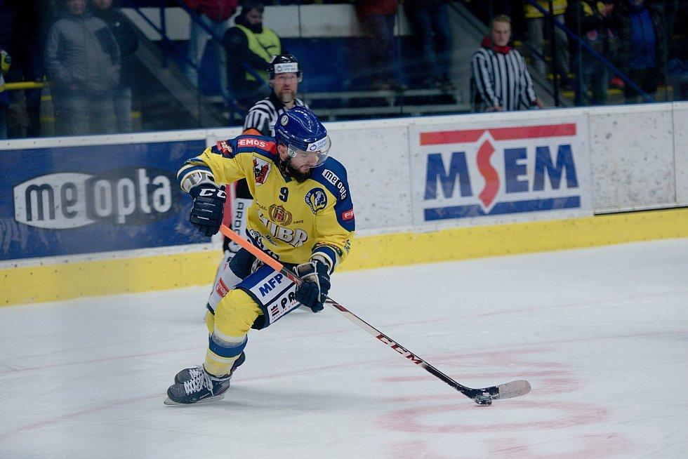 Hokejisté Přerova porazili Chomutov i podruhé během dvou dnů. Michal Popelka