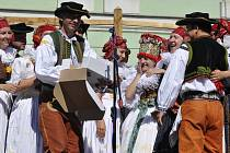 Folklorní festival V zámku a podzámčí v Přerově. Ilustrační foto