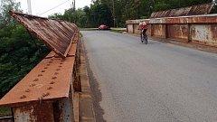 Mosty nad železniční tratí v Dluhonské ulici v Přerově, které čeká výměna
