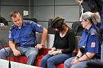 Alena G. obžalovaná z vraždy tříleté dcerky v Přerově u krajského soudu v Olomouci, 31. 8. 2020