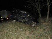 Nehoda na silnici I/47 mezi Přerovem a Osekem nad Bečvou