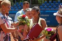Finále dvouhry hlavní soutěže tenisového Zubr Cupu v Přerově