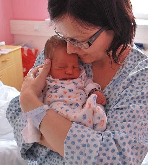Jan Drabina, Přerov, narozen 28. prosince 2010 v Přerově, míra 48 cm, váha 3 100 g