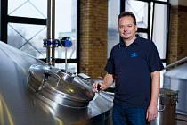 Ředitel přerovského pivovaru Zubr Tomáš Pluháček.