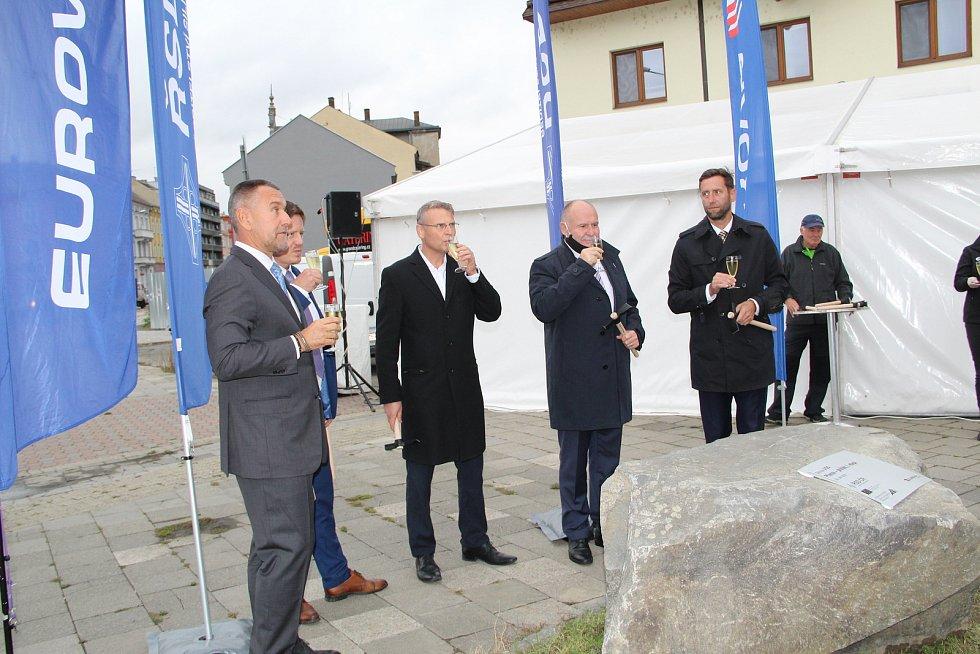 Oficiální zahájení stavby přerovského průpichu v září 2020