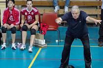 Trenér přerovských volejbalistek Vladimír Sirvoň