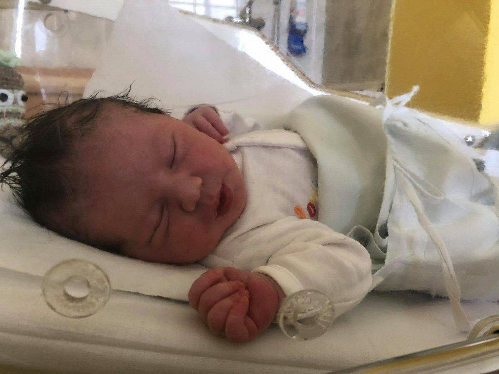 Tobiáš Rýpar, Přerov-Předmostí, narozen 21. června 2020 v Přerově, míra 50 cm, váha 3740 g