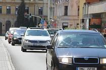 Palackého ulice v Přerově. Ilustrační foto