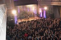 Koncert metalových kapel v Městském domě v Přerově