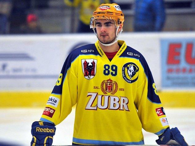 Lubomír Kovařík, útočník HC ZUBR Přerov.