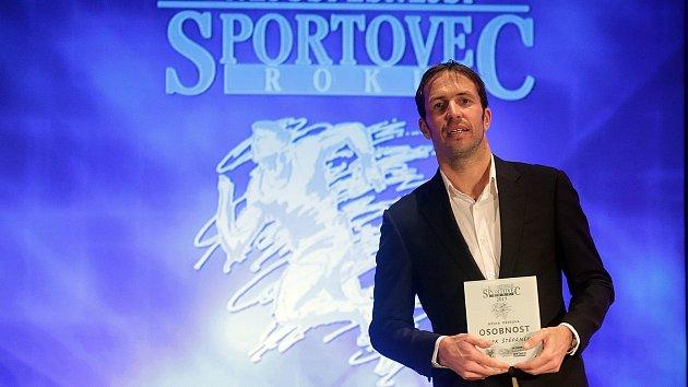 Nejúspěšnější sportovec roku 2017 města Přerova. Kategorie: Osobnost - Radek Štěpánek