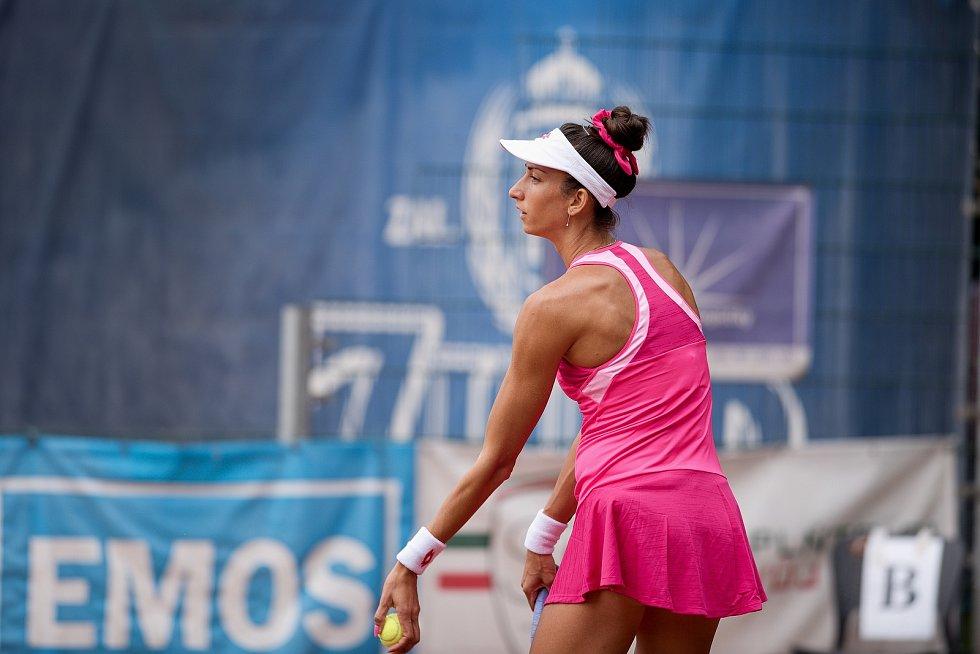 Tenisový Zubr Cup 2020 v Přerově. Garcia-Perez