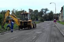 Opravy cest v Lipníku