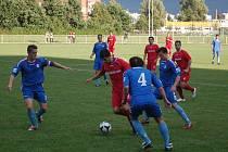 1. FC Přerov v modrém proti Dolanům