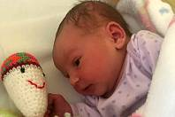 Claudia Emily Zapletálek, Tovačov narozena 23. února 2019 v Přerově míra 48 cm, váha 3208 g