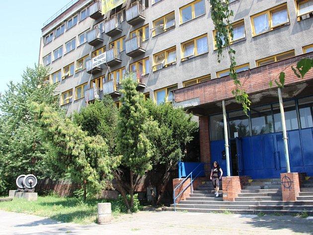 Ubytovna v Tovární ulici v Přerově