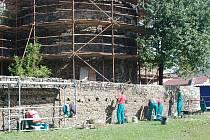 Oprava lipnických hradeb