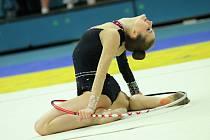 Moderní gymnastky Spartaku Přerov. Ilustrační foto