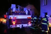 Požár bytu v Citově