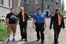 Romští asistenti prevence kriminality v Přerově. Ilustrační foto