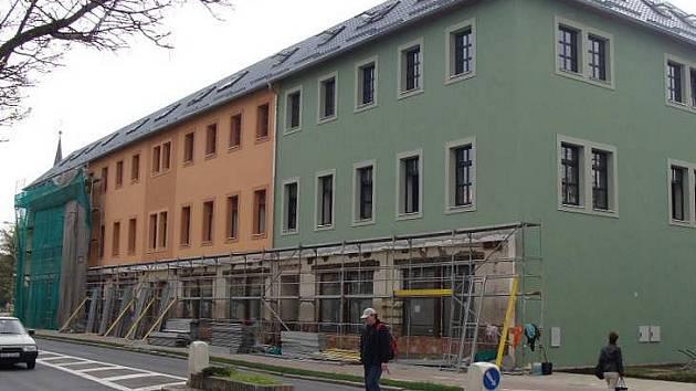 Budova bývalé hygienické stanice v Komenského ulici v Přerově
