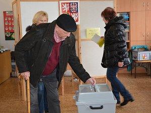 Druhé kolo prezidentských voleb na Přerovsku