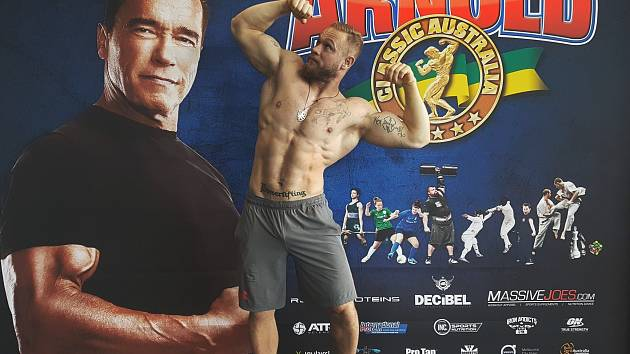 Strongman Jiří Tkadlčík na Arnold Classic Australia 2017