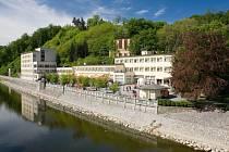 Lázeňská kolonáda u sanatoria Bečva