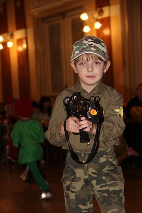 Dětský karneval s Pavlem Novákem