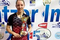 Badmintonistka Zuzana Pavelková